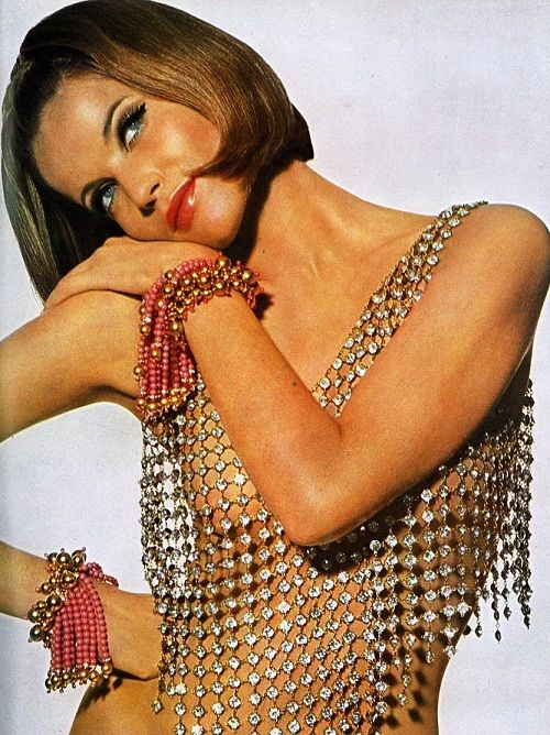 Veruschka by Irving Penn  Vogue UK May 1965