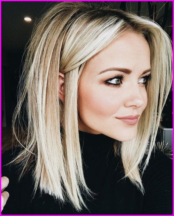 50 Easy And Cute Hairstyles For Medium Length Hair Straight Blonde Hair Medium Length Hair Styles Medium Hair Styles