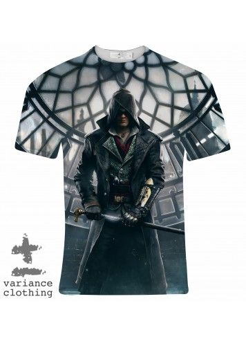 Assassins Watch Tower Crew Neck T-Shirt