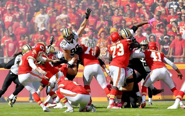 Saints vs. Chiefs  -  27-21, Chiefs  -  October 23, 2016:    Kansas City Chiefs kicker Cairo Santos kicks an extra point in the first quarter during Sunday's football game against the New Orleans Saints on October 23, 2016 at Arrowhead Stadium in Kansas City, Mo.