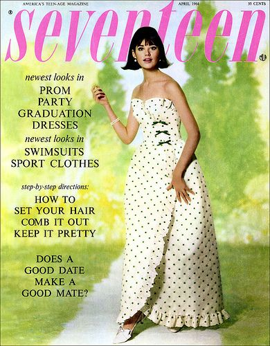 Seventeen Magazine April 1964 Colleen Corby by AngoraSox, via Flickr   My teenage bible for 1964-1968