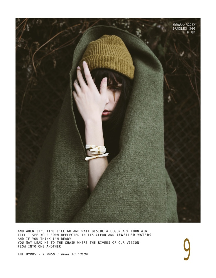 Easy Rider Lookbook from T [and] T S/S 2013; Jewelry for the wild-heart and the free spirit.