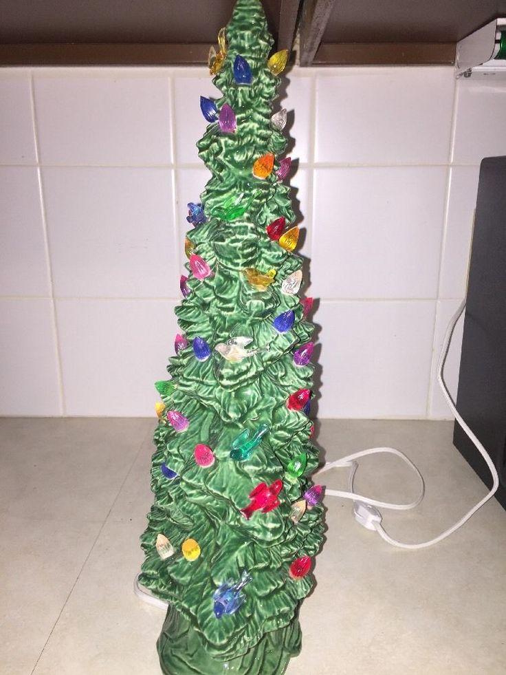 The 25+ best Vintage ceramic christmas tree ideas on Pinterest ...