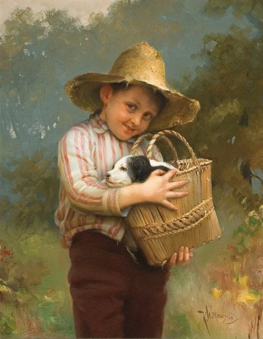 Famous Paintings Every Child Should See