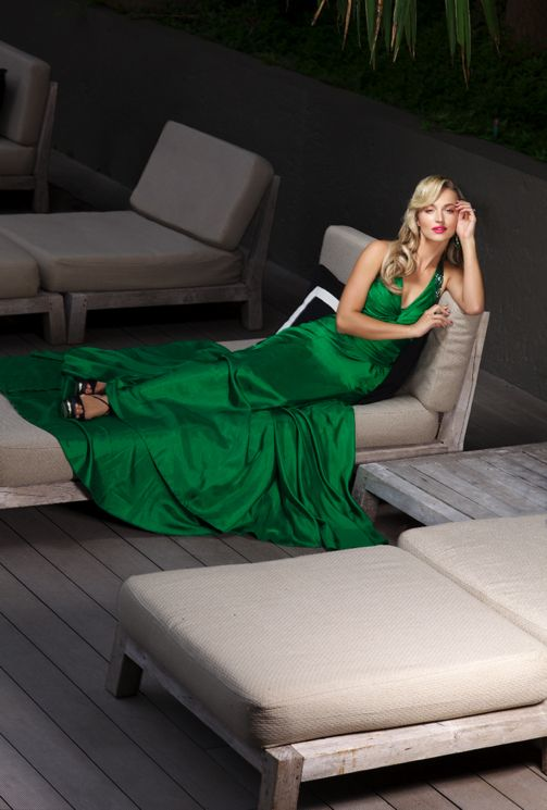 Melinda Bam   Describe your style in five words.  'Fun, confident, refined, romantic and old-Hollywoood.'