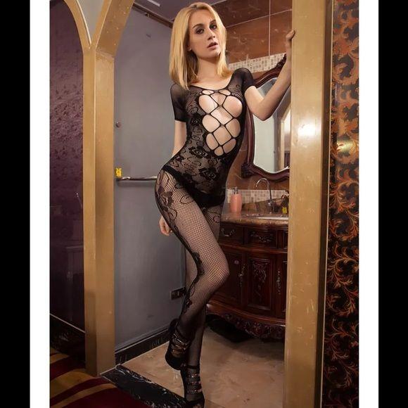 Black body stocking Very stretchy Intimates & Sleepwear