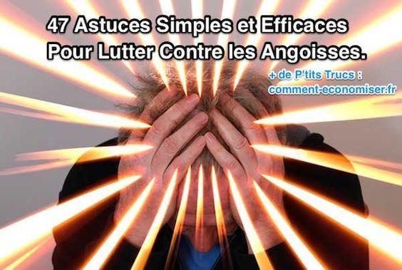 Il existe des petits exercices relaxants que l'on peut faire au quotidien pour nous aider à nous sentir plus concentrés et moins à la merci de nos folles pensées.  Découvrez l'astuce ici : http://www.comment-economiser.fr/47-astuces-simples-efficaces-pour-lutter-contre-anxiete.html?utm_content=buffer9711d&utm_medium=social&utm_source=pinterest.com&utm_campaign=buffer