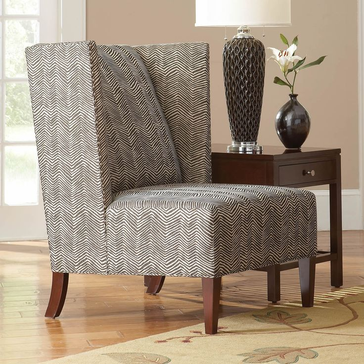 Stickley Furniture Fairport Wing Chair Modern Lines With
