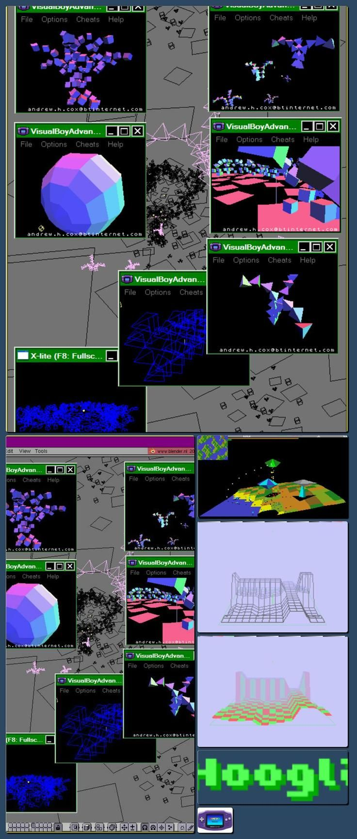 Realtime 3D on the Game Boy Advance