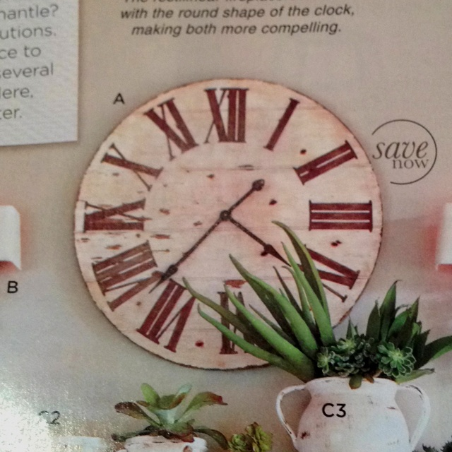 lanier wall clock from ballard designs 195 home