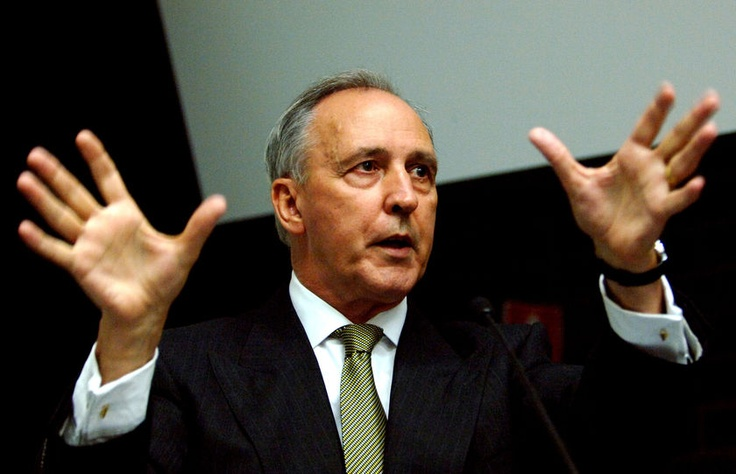"""Paul Keating - miss his witticisms.  Of John Howard:  """"he is a shiver looking for a spine to run up."""""""