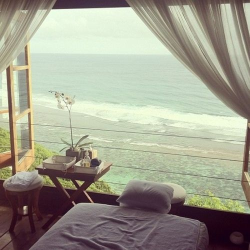 What A Great Location For A Massage. How Perfect.