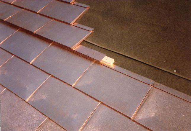Copper Shingles Quality Times Two Unsurpassed In Durability Beauty And Value Copper Is The Only Roofing Materia Metal Shingle Roof Metal Roof Metal Shingles