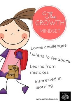 Are you teaching your class about Carol Dweck's Growth Vs Fixed Mindset? These two AusMinds posters are cute and will look great in your room.