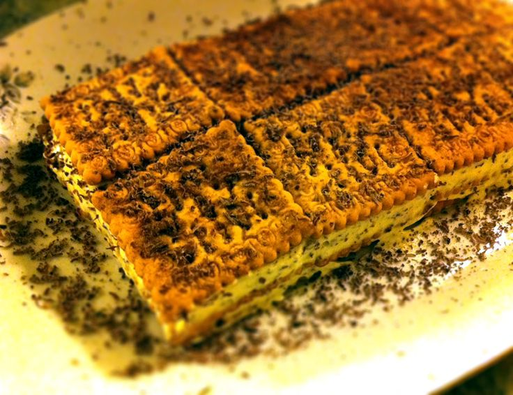 La ricetta di un dolce tipico: il dolce mattone al mascarpone. Pratico anche da servire perché ogni biscotto è una porzione! #italianfood