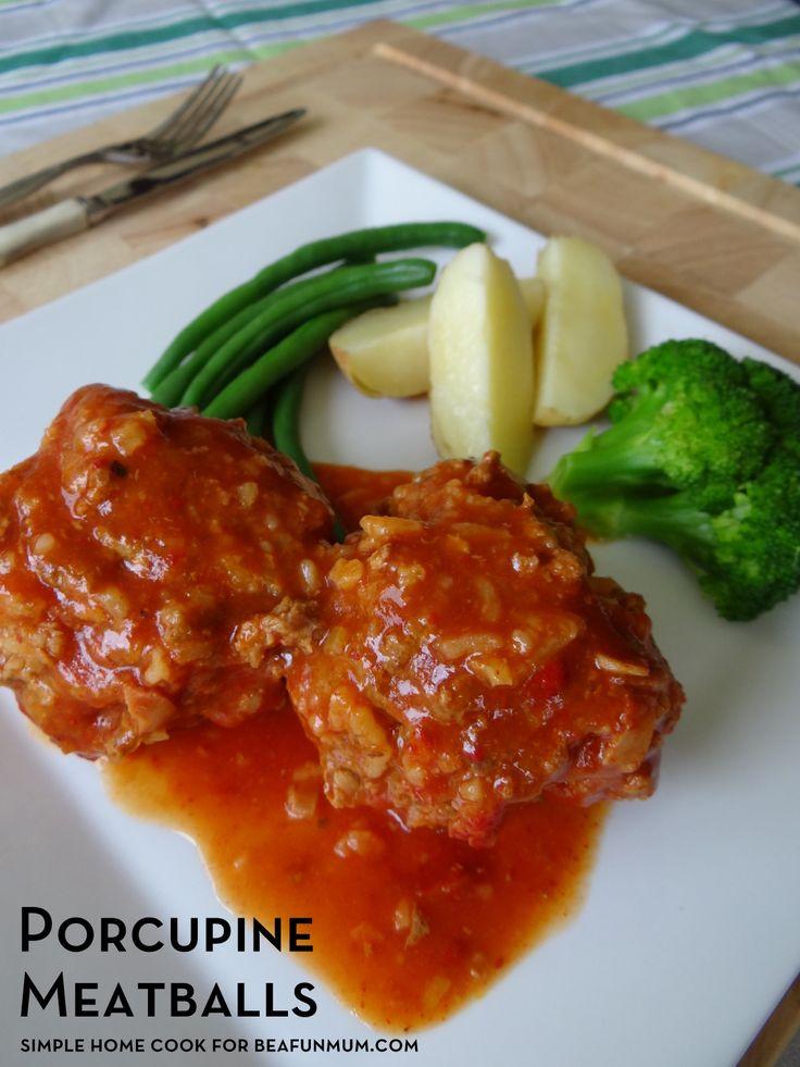 Porcupine Meatballs Recipe - slow cooker