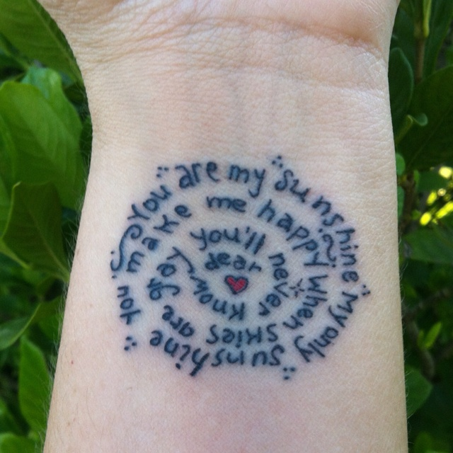 Tattoo Ideas You Are My Sunshine: 9 Best My Bunnie Tattoo Images On Pinterest