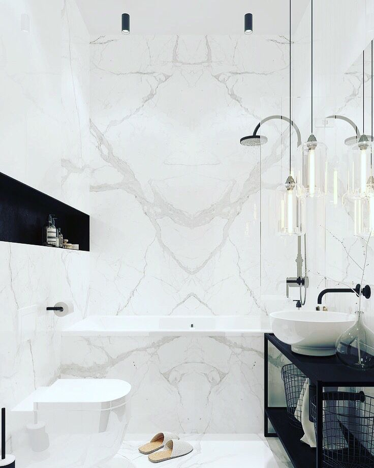 Carrara Tile Bathroom Feature Modern Marble Bathroom Luxury Bathroom Master Baths Small Bathroom Renovations
