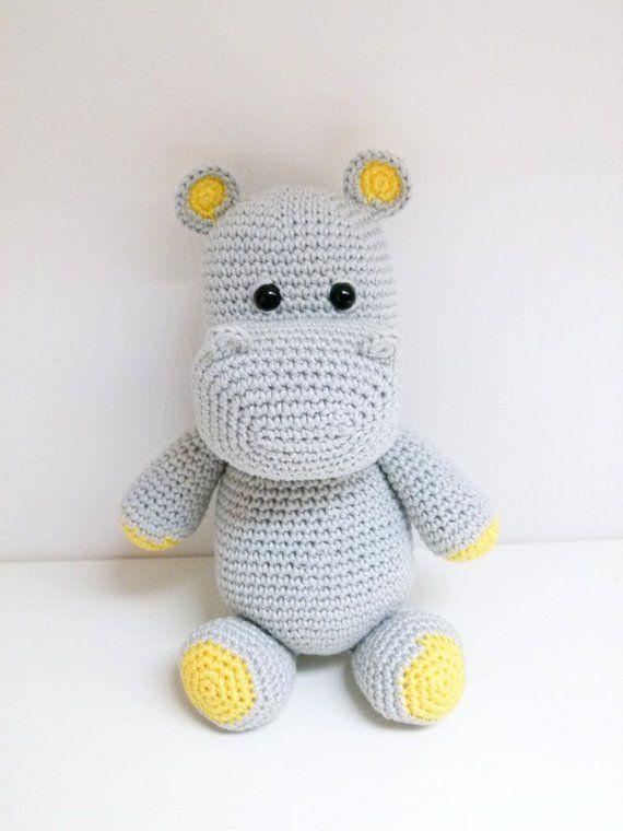 gratis Nilpferd häkeln--Hippo häkeln gratis | 760x570