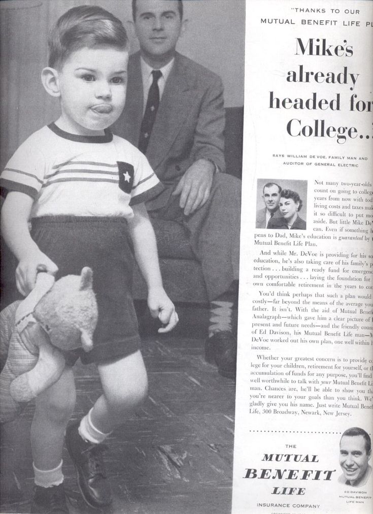 June 12 1954 mutual benefit life insurance company ad