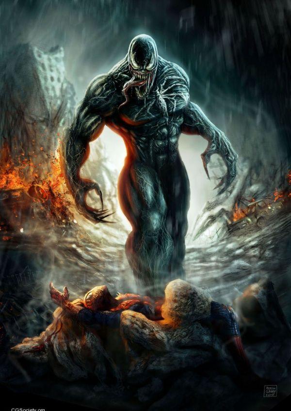 Venom Art by Patricio Clarey