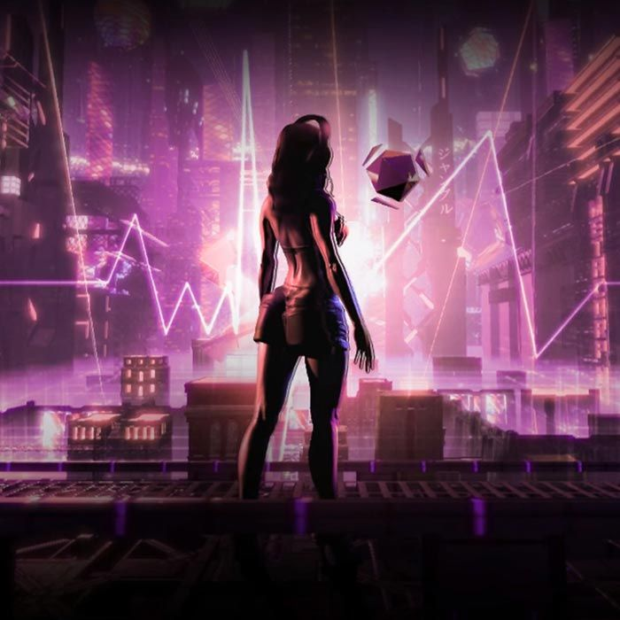 Cyberpunk Girl Beats Fever Rgb Aura Wallpaper Engine Cyberpunk
