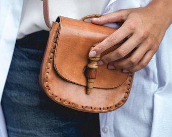 Chile, handmade leather bag, shoulder bag, leather bag, handmade bag for women, BOLSON BAGS