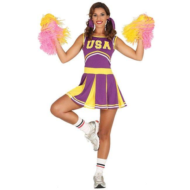 Disfraz de Animadora Estados Unidos para mujer #disfraces #carnaval #novedades2017