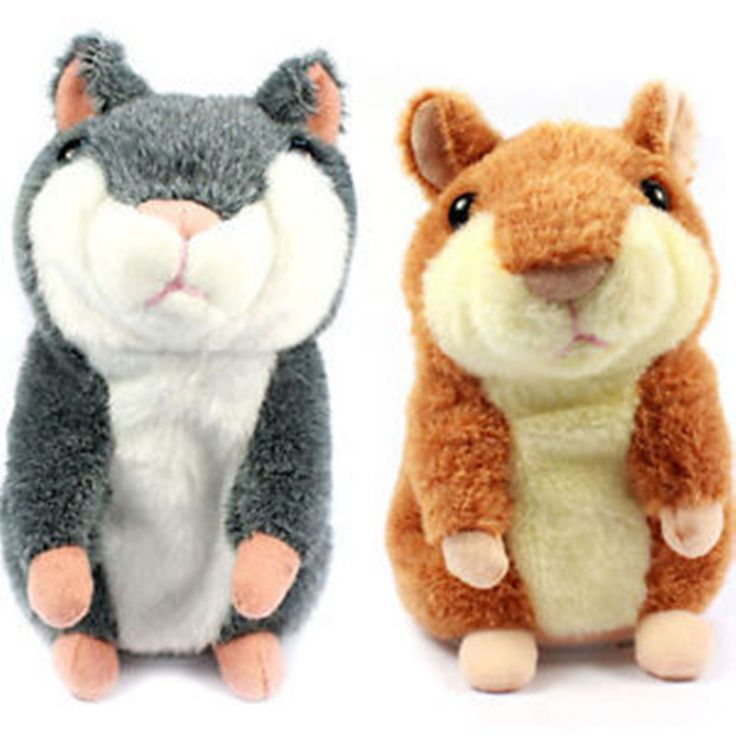 Russian Talking hamster wooddy time stuffed animal toys speaking kid Toy repeat what u said in any language