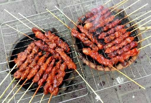 Sate Babi khas Olahan Banjar