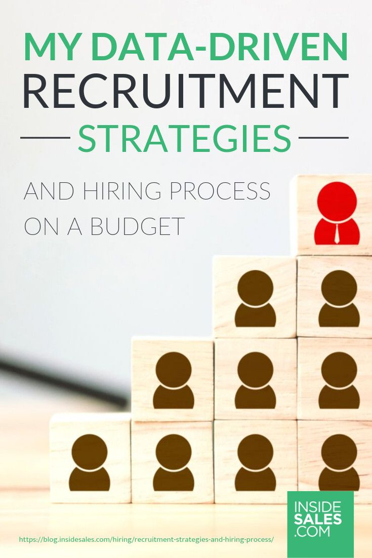 My Data Driven Recruitment Strategies And Hiring Process On A