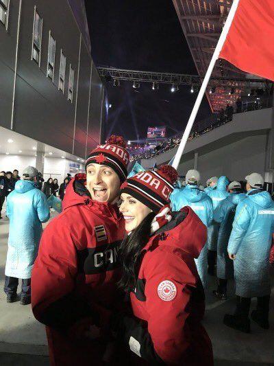 Scott Moir and Tessa Virtue! <3