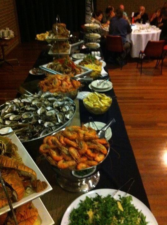 Seafood Buffet www.essentialcaterer.com.au