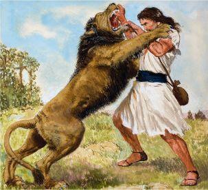 david and the bear | THEOparadox - The Biblical Paradox Blog: Lakeside Retreat 2011 - What ...