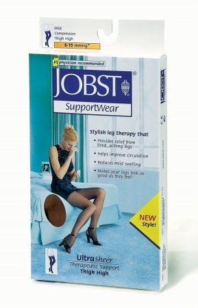 BSN Medical 117224 JOBST Compression Stocking Thigh High 815 mmHG Closed Toe XLarge Silky Beige >>> Continue to the product at the image link.