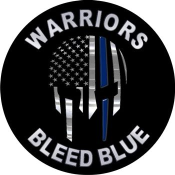 Back the Blue with our newest decals! This 100% reflective decal is great for gifts and to place on cell phones, cars, license plates, boats, and laptops.