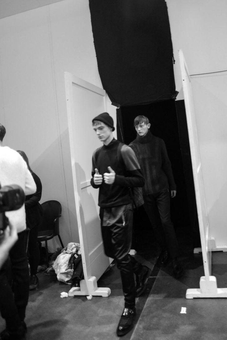 Backstage - Iceberg Fall Winter 2014-15 Men's Collection ph Francesco De Angelis
