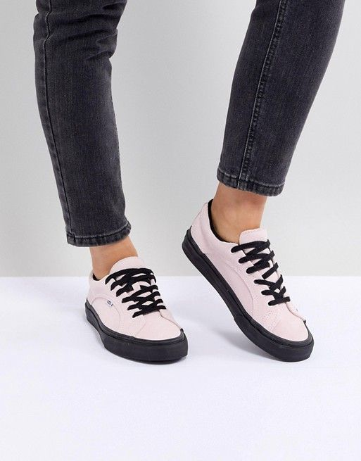 71a602ca2a8210 Vans Lampin Sneakers In Pastel Pink