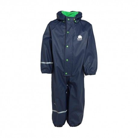 Rainsuit One piece without lining, navy blue, Celavi