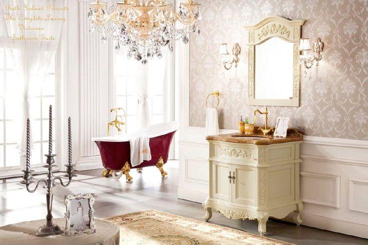 13 vackra badrum i viktoriansk stil - Sköna hem