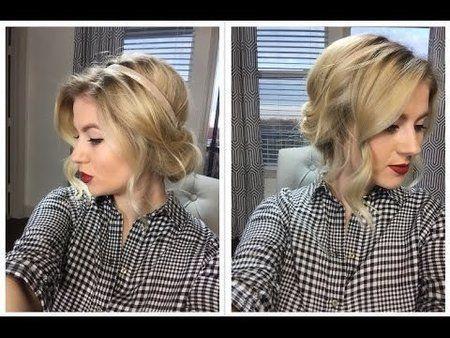 Vintage Rolled Hair |Tutorial| - #hairtutorial #hairstyle #milabu #hairstyle #hair #vintagehair - bellashoot.com & bellashoot iPhone & iPad app