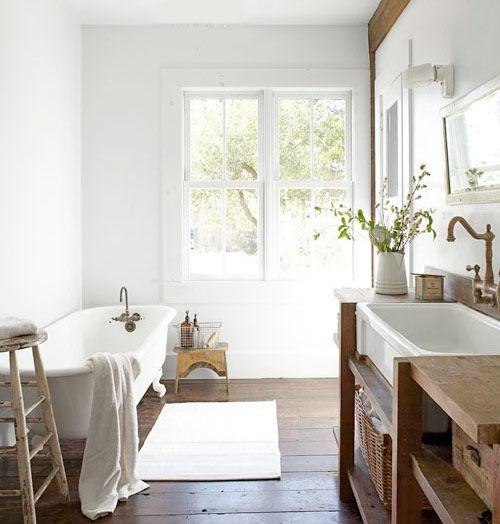 Shaker-stilen tilltalar – 20 badrum i avskalad lantlig stil - Sköna hem