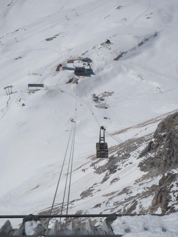 Alle Bergbahnen auf die Zugspitze