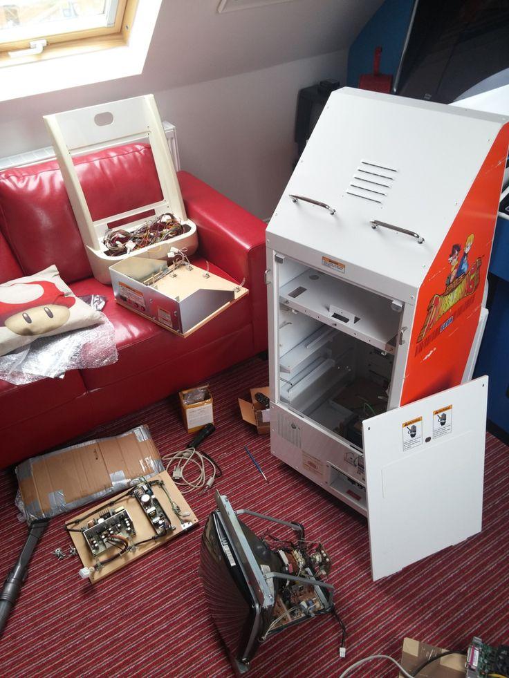 Sega Dinosaur King Arcade Cabinet