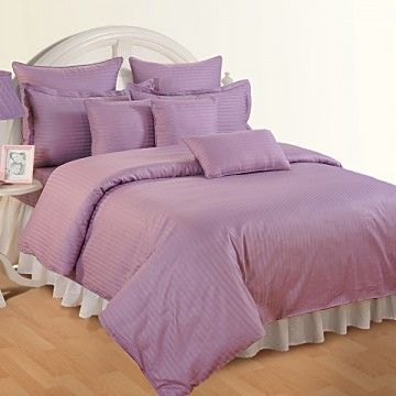 Purple Aura Fitted Bed Sheet, Sonata Classic Tango