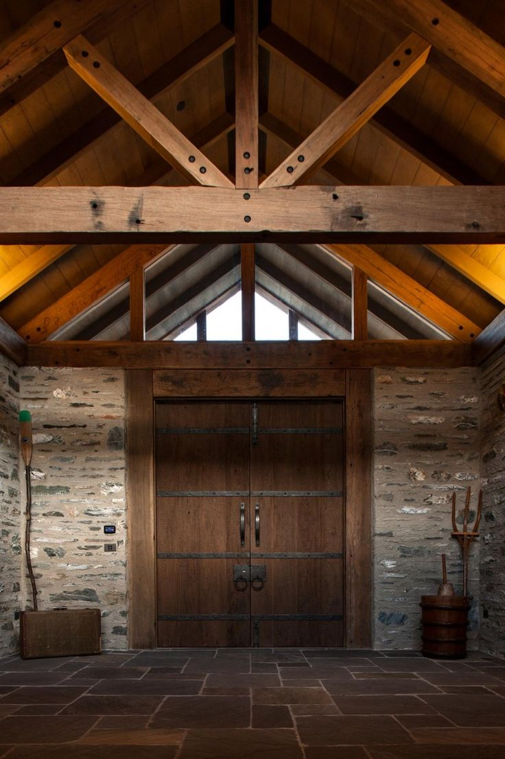 love the beams and the ceiling here - again, a but too rustic, but would love these beams, maybe painted?