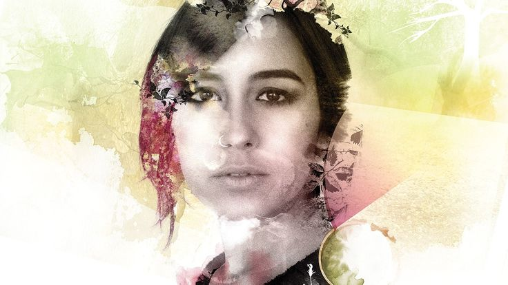 Photoshop tutorial: How to mix watercolours and photos in Photoshop with stunning results - Digital Arts  Blend watercolour and textures from old textiles and photos to create a mixed media artwork.