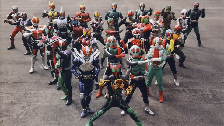 omg... kamen rider (the masked rider)... i watched every.single.episode! lol