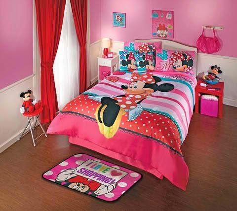 quarto minnie vermelho