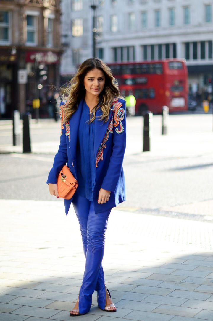 Th Ssia Naves Brazilian Fashion Blogger Of Mood Blue Streetstyle